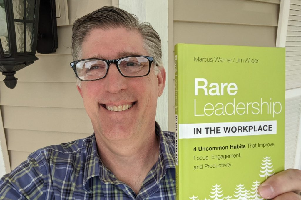 marcus with rare leadership in the workplace book