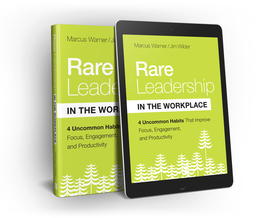 rare leadership in the workplace book